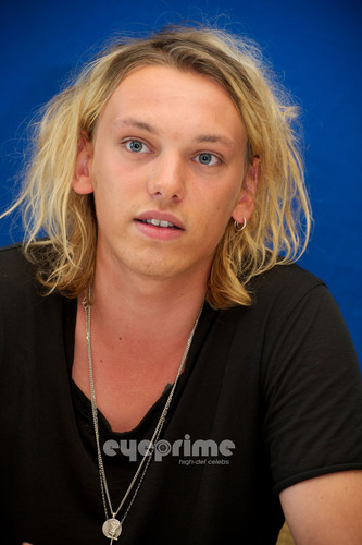 Jamie Campbell Bower wallpaper possibly containing a portrait called Jamie Campbell Bower: Anonymous Press Conference