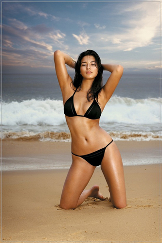 swimsuit si wallpaper containing a bikini titled Jessica Gomes