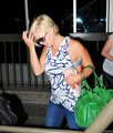 July 10th, Jennie arrive at LAX Airport - jennie-garth photo