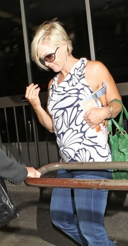 July 10th, Jennie arrive at LAX Airport