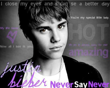 Justinn Bieber :)