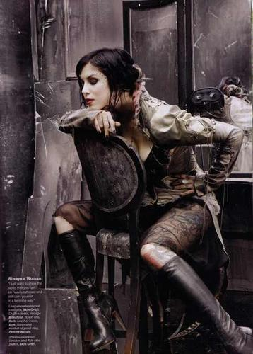 Kat Von D wallpaper possibly containing a breastplate, a rifleman, and a brigandine titled KAT:)♥