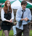 Karen gillan & matt smith - matt-smith-the-doctor photo