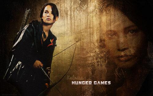 Katniss kertas dinding