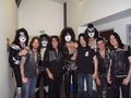 kiss with Alice Cooper