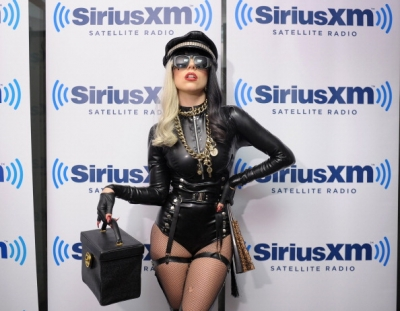 Lady Gaga At The Morning Mash Up in NYC
