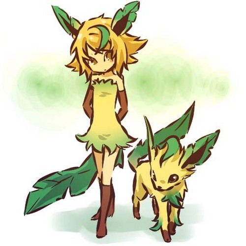 Leafeon Girl