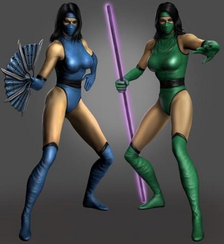 MK2 Kitana and Jade (MK DLC)