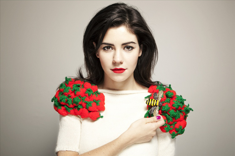 Marina and the strawberries