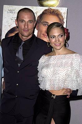 Matthew McConaughey & Jennifer Lopez - movie premiere