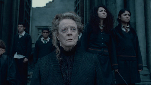 McGonagall - Deathly Hallows Part 2