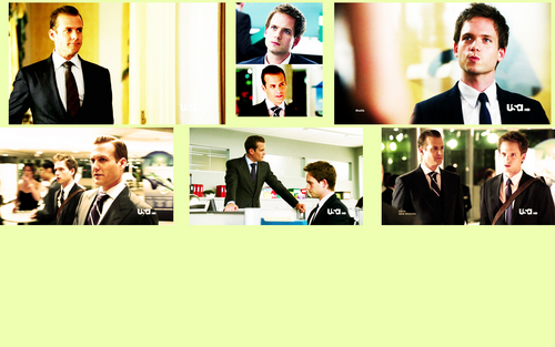 Mike Ross and Harvey Specter