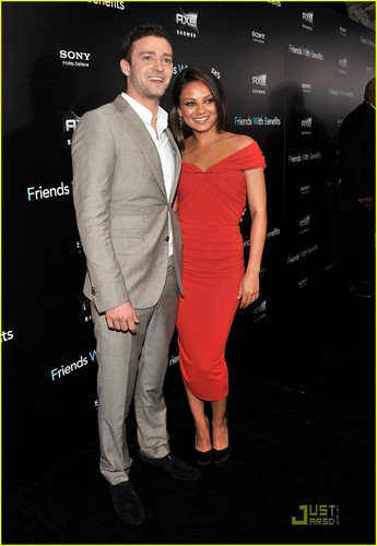 Mila Kunis & Justin Timberlake: 'Friends with Benefits' Premiere!