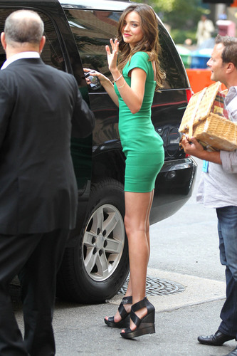 Miranda Kerr Meets Up With Harvey Weinstein in Downtown NY, Jul 19