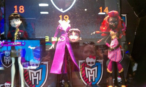 Monster High prototypes from San Diego Comic con!