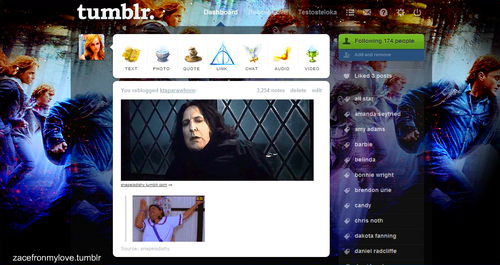 My Tumblr Harry Potter