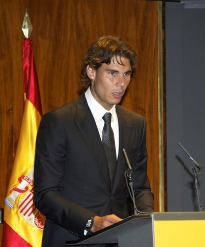 Nadal here look alike with Obama