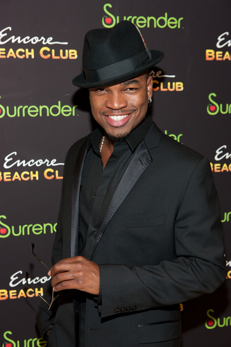 Ne-Yo 壁紙 probably containing a business suit and a fedora titled Ne-Yo