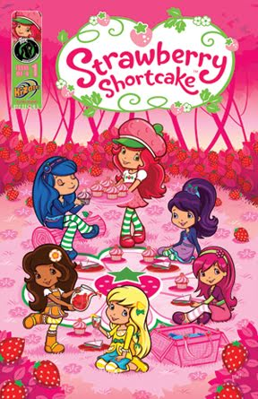 New Strawberry Shortcake and friends