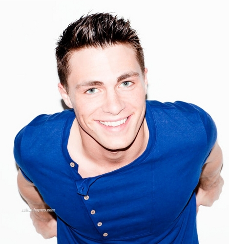 Colton Haynes wallpaper possibly with a portrait called Nylon magazine