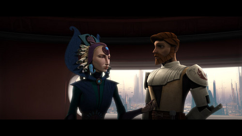 Obi-wan and Satine couple