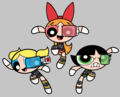 POWER PUFFS - the-powerpuffs-rowdyruffs-and-powerpunks photo