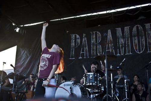帕拉摩尔 on Vans Warped Tour 2011