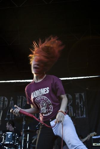 파라모어 on Vans Warped Tour 2011