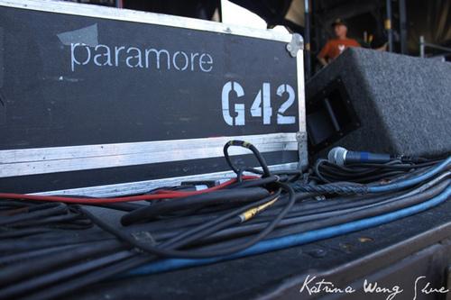 প্যারামোর on Vans Warped Tour 2011