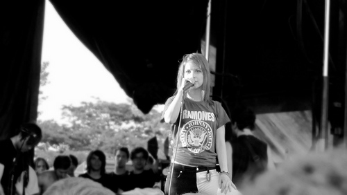 파라모어 on Vans Warped Tour 2011