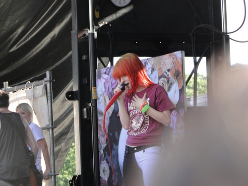 প্যারামোর on Vans Warped Tour 2011
