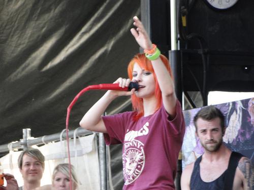 Paramore on Vans Warped Tour 2011