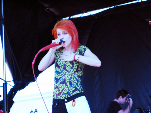 Paramore on Vans Warped Tour 2011