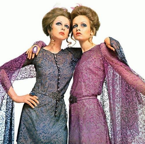 Pattie Boyd & Twiggy