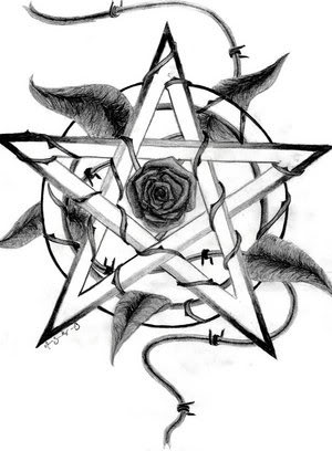 Pentagrams - witchcraft Photo