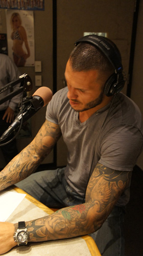 Randy Orton 07/19/11 - In Studio at 93x Rocks