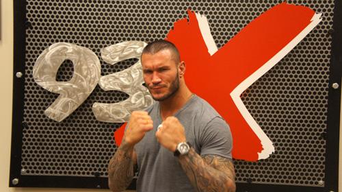Randy Orton 07/19/11 - In Studio at 93x Rocks