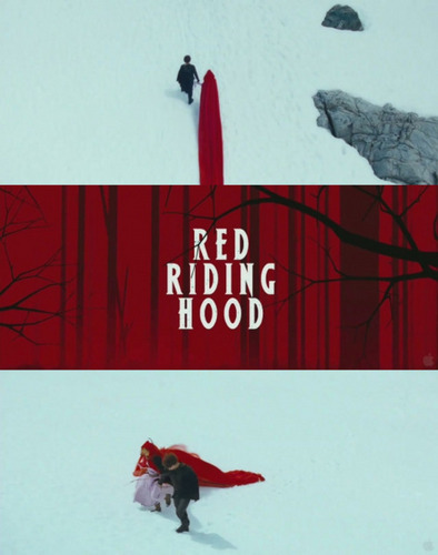 Red Riding capuche, hotte