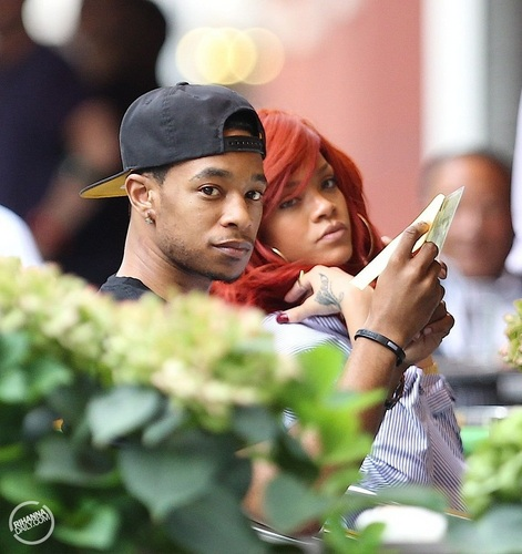 Rihanna - And Melissa at DaSilvano - July 18, 2011