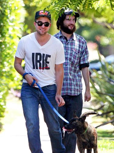 Robert with tom &bear