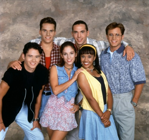 Rocky, Tommy, Billy, Adam, Kimberly, and Aisha. - mighty-morphin-power-rangers Photo