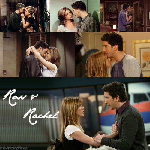 Ross and Rachel wallpaper possibly containing a brasserie titled Ross and Rachel ♥