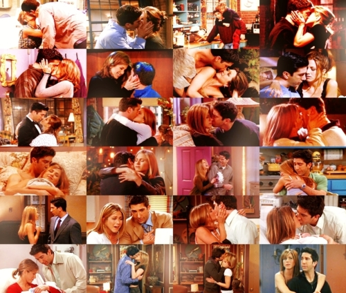 Ross Geller wallpaper titled Ross and Rachel ♥
