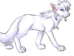 Rouge the serigala, wolf