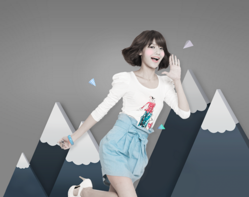 SNSD Sooyoung 2011 Daum Promotional Pics