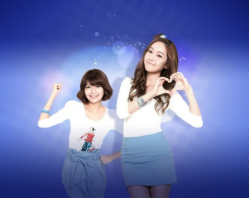 SNSD Sooyoung & Jessica2011 Daum Promotional Pics