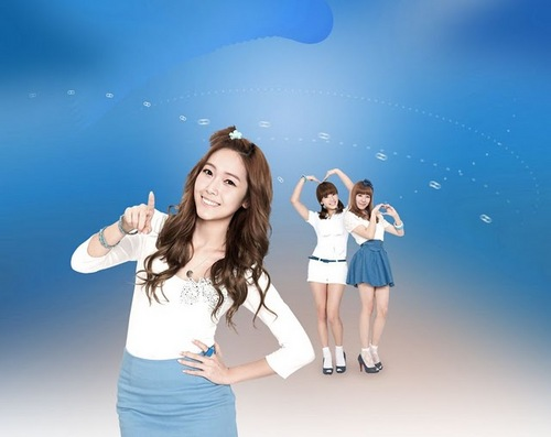 SNSD Jessica Taeyeon & Tiffany 2011 Daum Promotional Pics