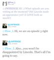 SPOILER Lincoln Season 4