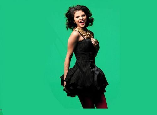 Selena Gomez karatasi la kupamba ukuta