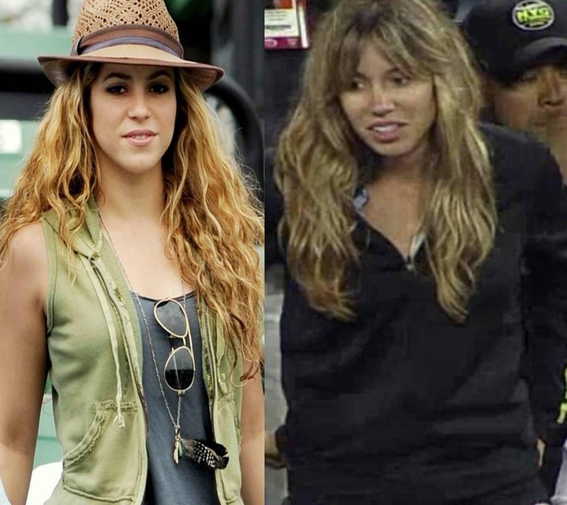 Шакира and Nadal sister look alike